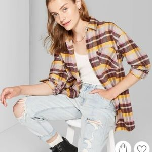 Wild Fable Heavyweight Flannel Shirt